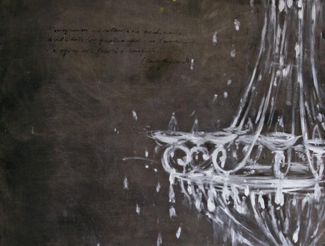 Prima Rarefazione - 100x70 - Olio su Lamiera (Collezione privata)