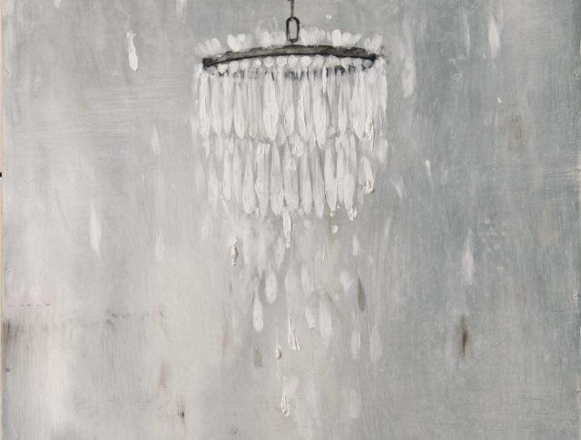 Il velo dell'innocenza - 50X60cm - Olio su lamiera - 2014