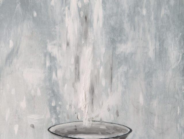 Battesimo - 50X60cm - Olio su Lamiera - 2014