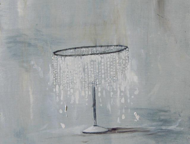 Il sonno della contessa - 40x40 cm - 2013 - Olio su lamiera